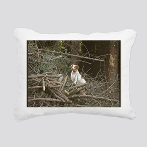 Bird Crazy16x20 Rectangular Canvas Pillow